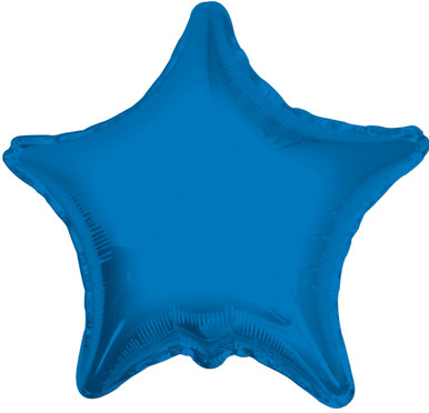 blue star balloon