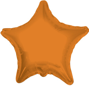 orange star balloons