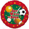 "18"" Get Well Sports 1ct"