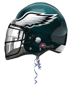 eagles helmet balloon