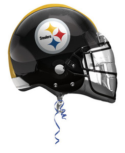 steelers helmet balloon