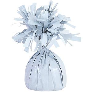 Balloon Weights 6.2 oz White Foil Weight  #99993W