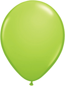 "11"" Qualatex Lime Green 100ct #48955"