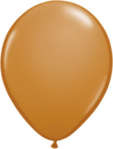 "5"" Qualatex Mocha Latex Balloons Latex Balloons 100Bag #99377-5"