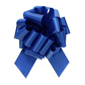 "5"" Royal Blue Perfect Pull Bow 1ct"