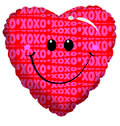 "18"" Smile Heart Helium Foil Balloon 1ct #20087"