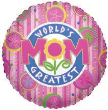 "18"" World's Greatest Mom Balloon 1ct #84109"
