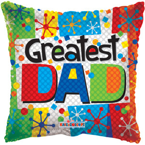 greatest dad balloons