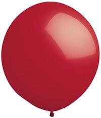 """84"""" Biggest Round Red Balloon 1ct #9607"""
