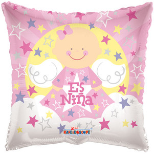 "9"" Es Nina Foil Balloon 1ct"