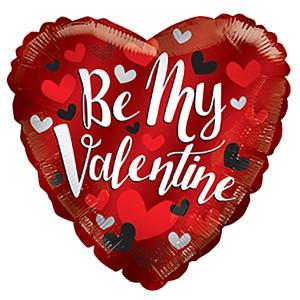 "9"" Be My Valentine Mini Foil Balloon 1ct"