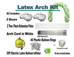 Latex Balloon Arch Kit Re-Useable FREE SHIPPING