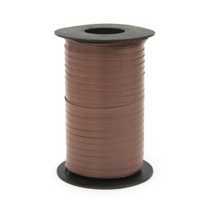 "**Special Price**Brown Thin Curling Ribbon 3/16""x1500' #118"