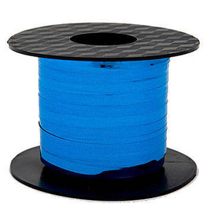 "Metallic Blue Curling Ribbon 3/16""x100 Yds #GL100-12"