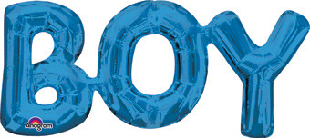 consumer inflated boy letter balloons
