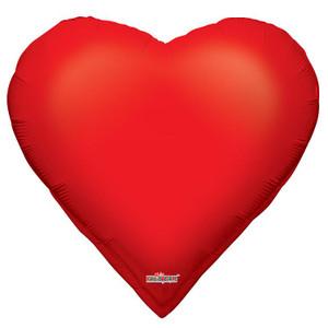 """28"""" Casino Heart Balloon"""