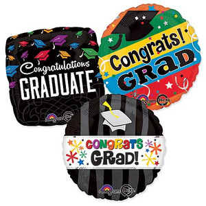 Graduation Balloons Bulk Pack 100ct See Details