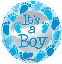 its a boy balloons