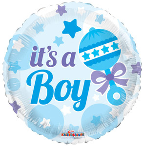 it's a boy balloons