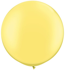 "30"" Qualatex Pearl Lemon Chiffon 1ct #38485"