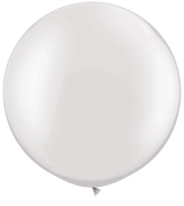 "30"" Qualatex White Pearl 1ct #39946"