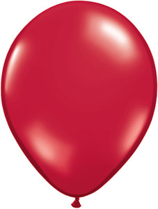 "5"" Qualatex Ruby Red Latex Balloons 100Bag #43601-5"
