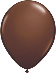 "11"" Qualatex Chocolate Brown 100ct #68778"