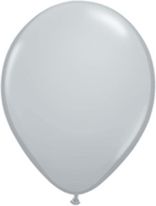 "11"" Qualatex Gray 100ct #13780"