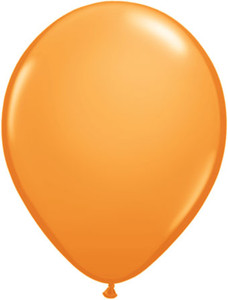 "16"" Qualatex Standard Orange 50ct"
