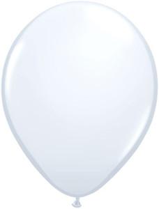 "16"" Qualatex Standard White 50ct"