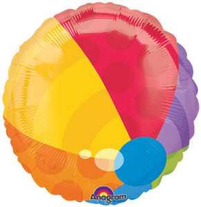 beach ball balloon