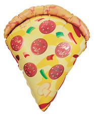 "38"" Pizza Shape Helium Foil Balloon 1ct #15460"