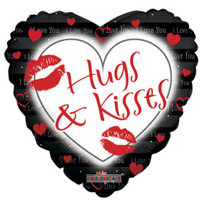 "9"" Micro Mini Air Fill Only Hugs & Kisses Air Fill 1ct ""17846-09"