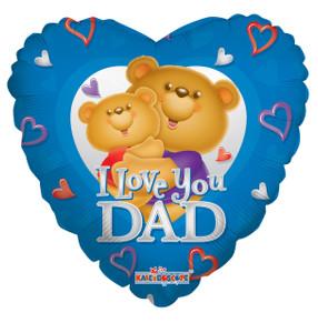 i love dad balloons