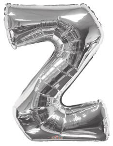 "34"" Silver Letter Z Balloon #15255-34S"