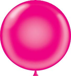 "magenta 17"" balloons"