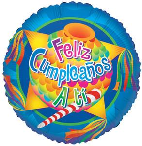 spanish birthday balloons feliz compleanos balloons
