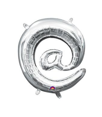 silver @ balloon