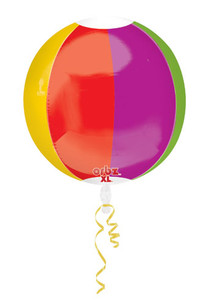 beach ball orbz balloon