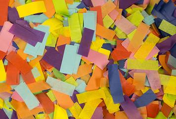 confetti multi color tissue confetti