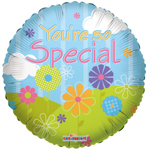 "9"" You're So Special Landscape Foil  Air Fill Only 1ct #19498"