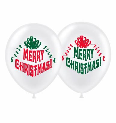 Merry Christmas balloons