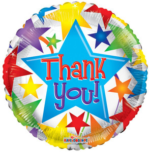 thank you balloons