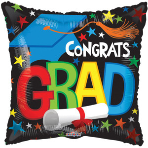 mini graduation balloons