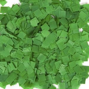 Confetti Dark Green Snow Tissue Confetti 1LB Bag