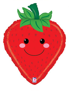 strawberry balloons