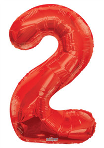 red number balloon