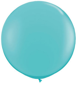 caribbean blue latex balloons