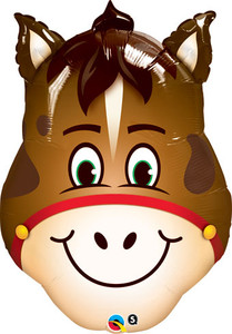horse head balloons