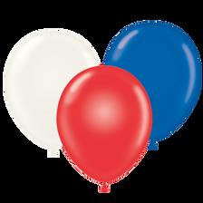 patriotic balloons,flag balloons